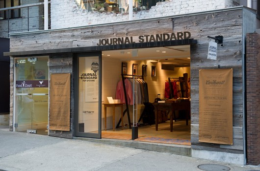 Carhartt at JOURNAL STANDARD POP-UP STORE
