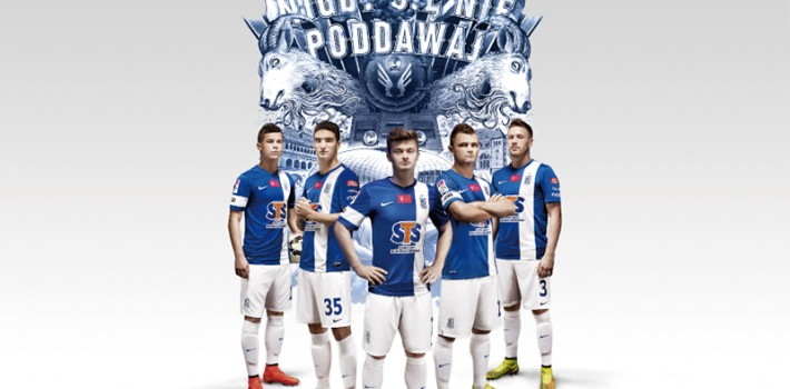"NIKE ""Lech Poznan"" illustration by SHOHEI"